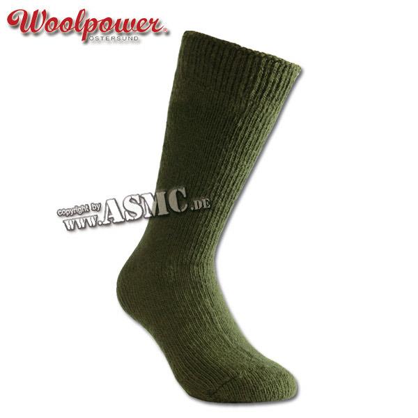 Woolpower chaussettes Arctic kaki