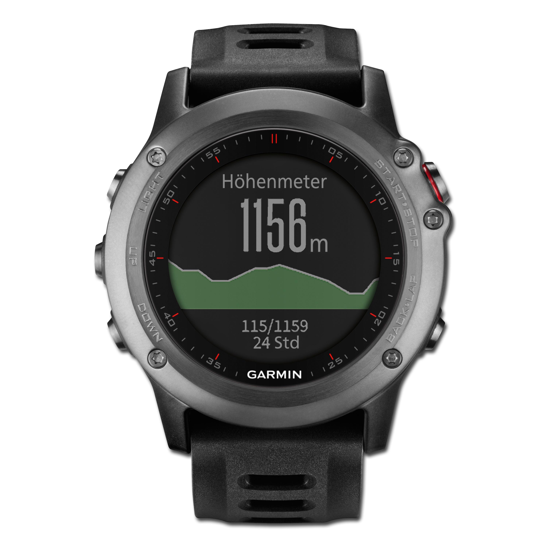 Montre GPS Garmin Fenix 3 Outdoor gris