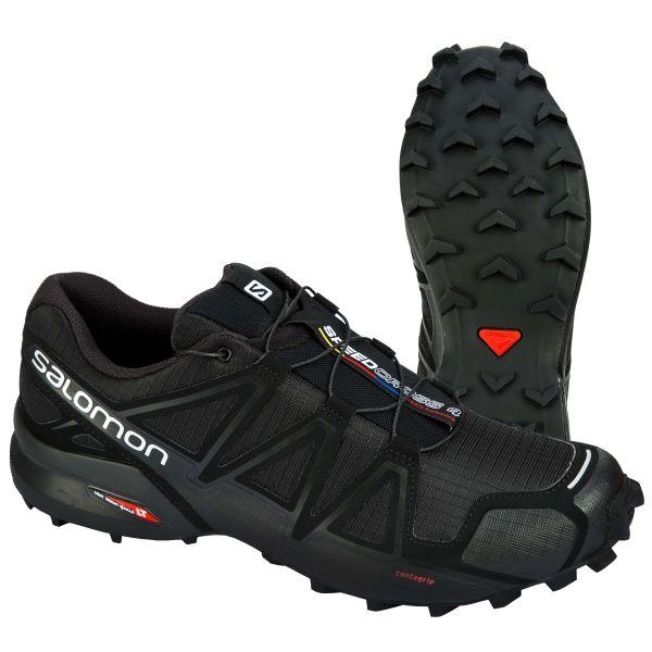 Salomon Chaussures Speedcross 4 noir métallique