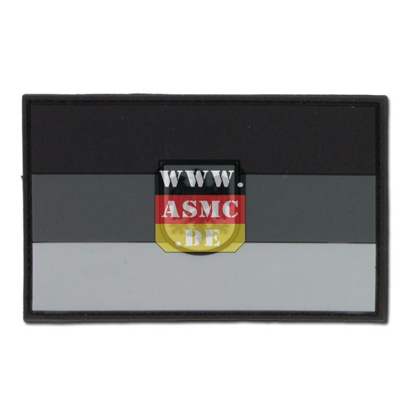 Patch 3D Drapeau Allemand avec emblème subbed gris