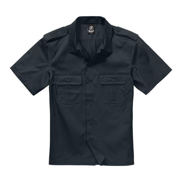Chemise US à manches courtes Brandit noire