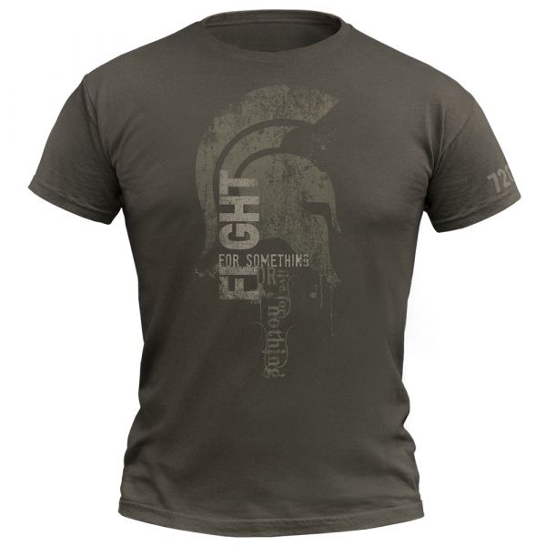 720gear T-Shirt Fight For Something olive