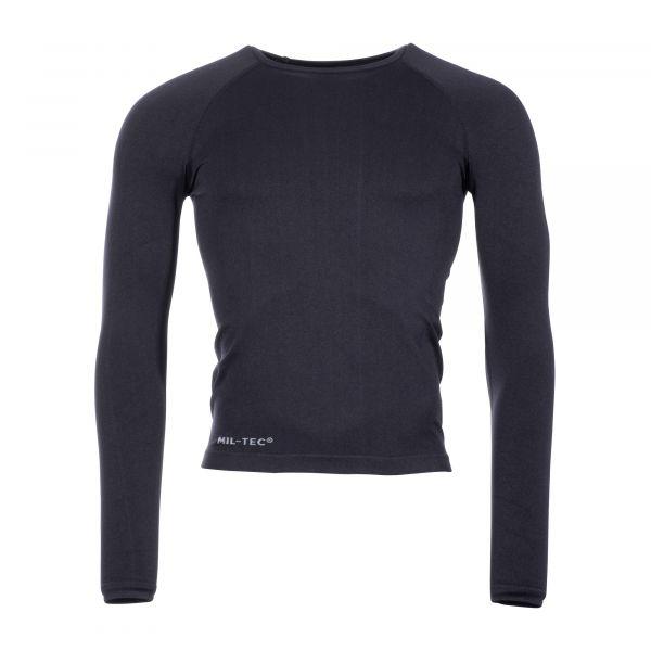 Mil-Tec T-Shirt manches longues Sports noir