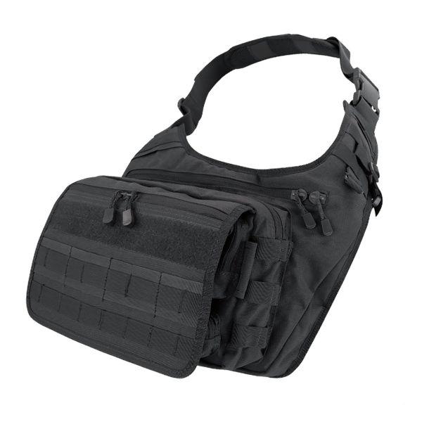 Sacoche Condor Messenger Bag noir