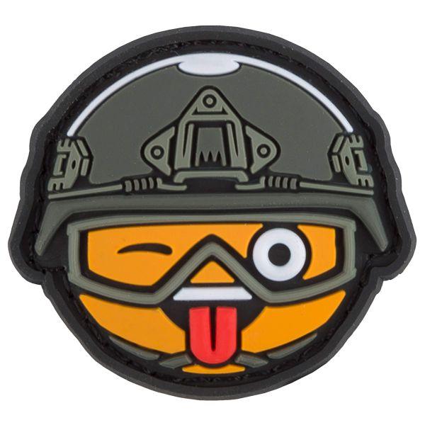TacOpsGear Patch 3D PVC Tacticons Nr.04 Naughty Laugh Emoji