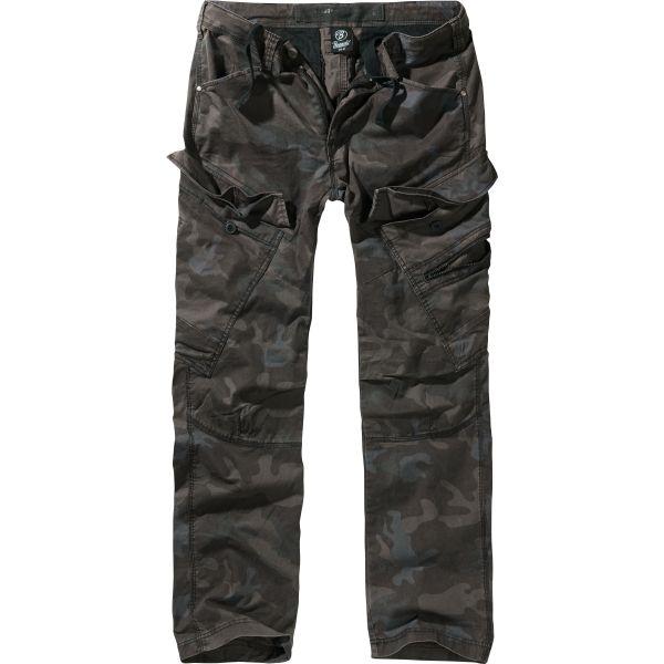 Brandit Pantalon Adven Trouser slim fit darkcamo