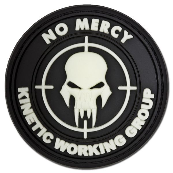 Patch 3D NO MERCY - KINETIC WORKING GROUP lumiescent