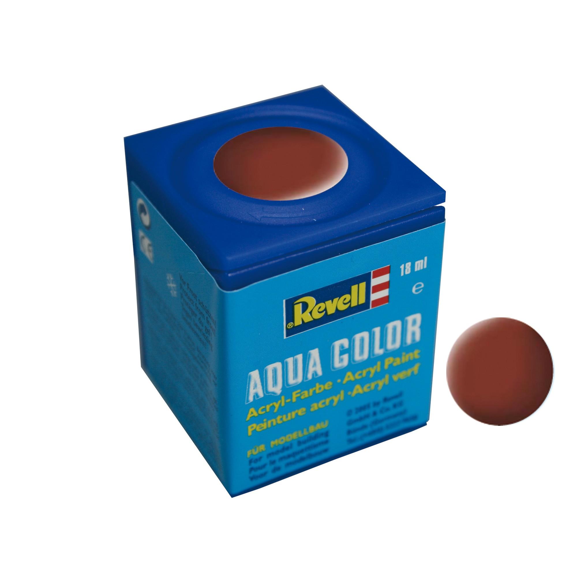 Peinture Revell Aqua Color mat rouge brique