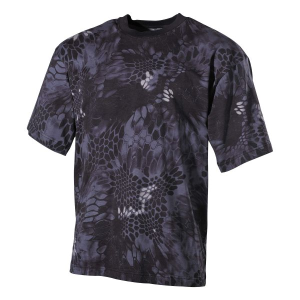 T-Shirt US manches courtes snake black