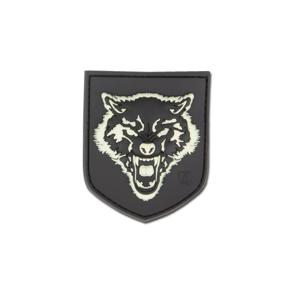 Patch 3DE Wolf small luminescent