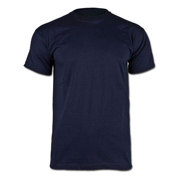 T-Shirt avec drapeau français bleu marine