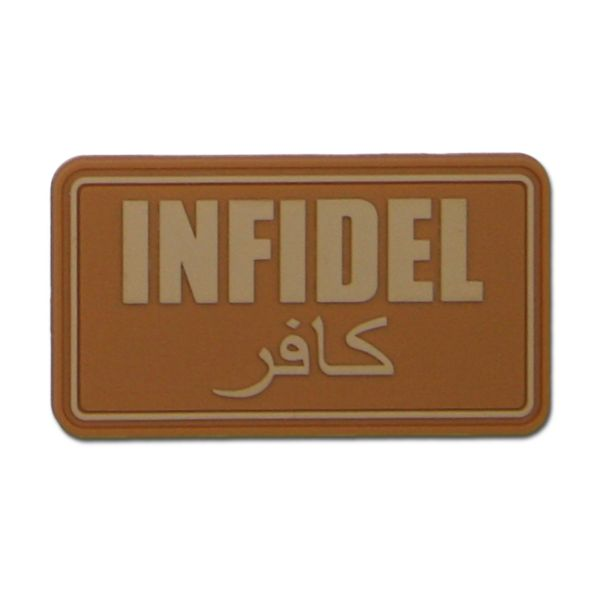 Patch 3D Infidel coyote
