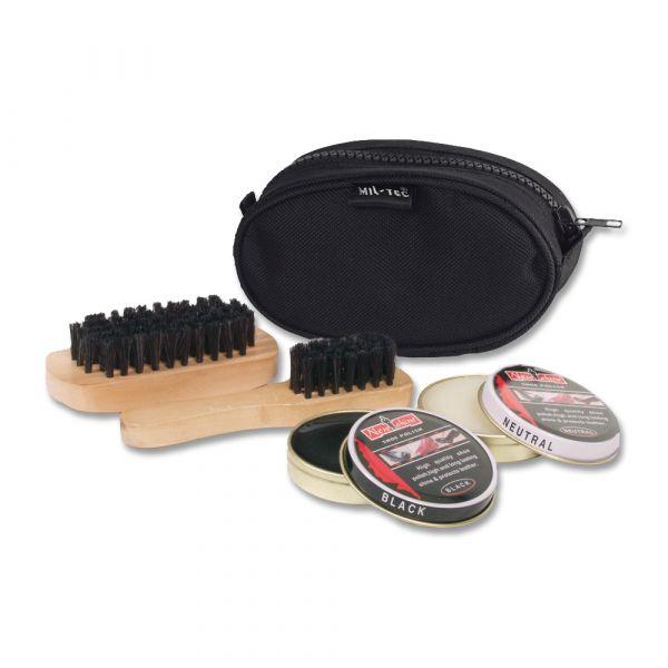 Kit de nettoyage pour chaussure Mil-Tec noir