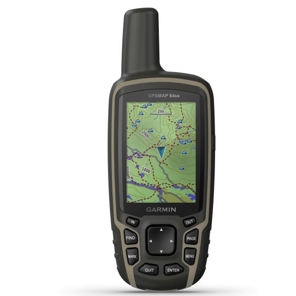 Garmin GPSMAP 64SX TOPO Allemagne V9 PRO