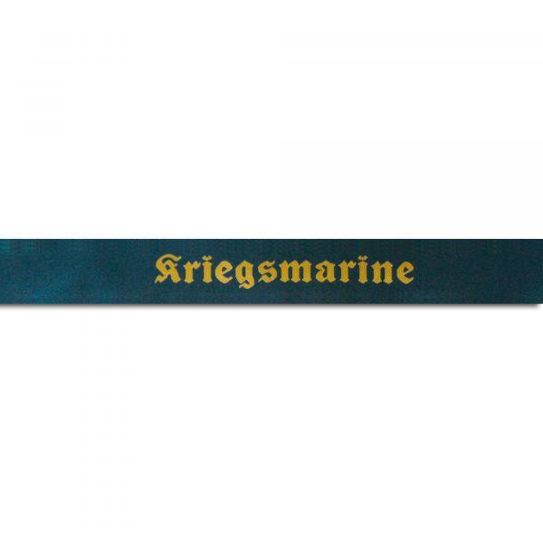 "Bandeau de casquette marine ""Kriegsmarine"""