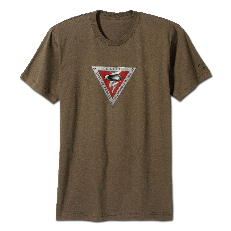 T-shirt Oakley Logo Elite kaki