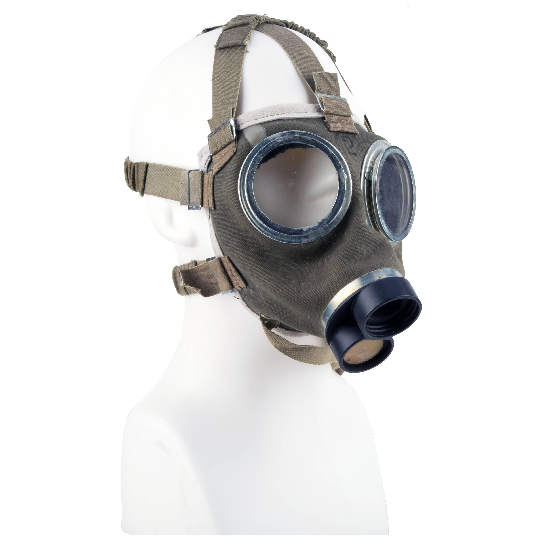 Masque de protection hongrois olive comme neuf