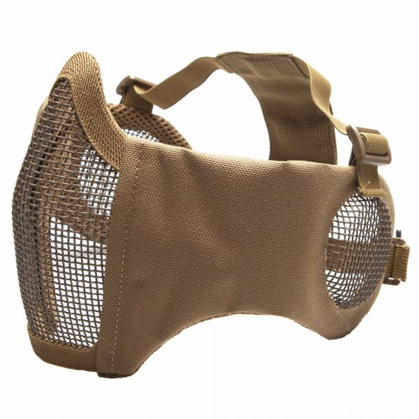 ASG Masque de protection Metall-Mesh visage et oreilles tan
