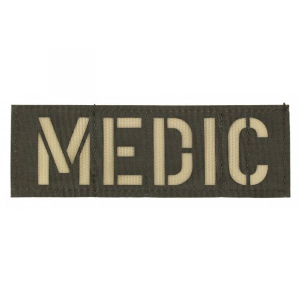 Zentauron Patch MEDIC BW olive sable