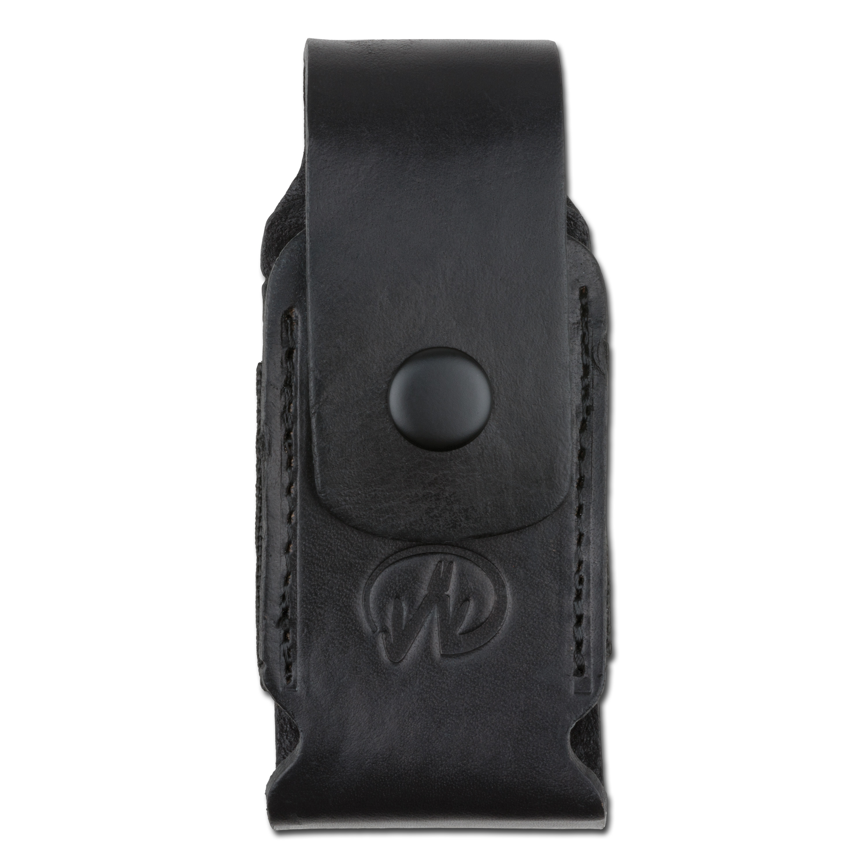 Holster cuir/nylon Leatherman Premium I noir