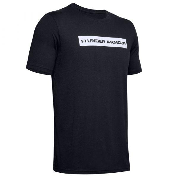 Under Armour T-Shirt Originators Bar SS noir