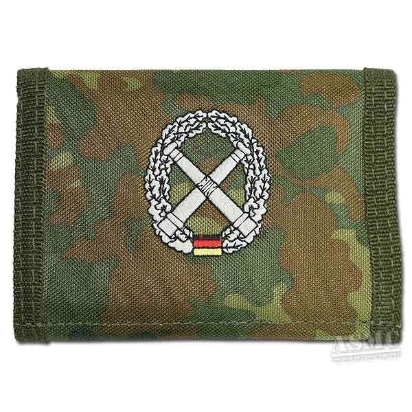 Portemonnaie Artillerie flecktarn