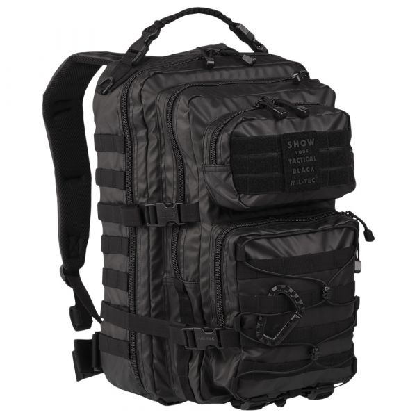 Sac à dos US Assault Pack Tactical Black LG