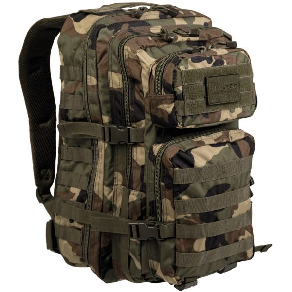 Mil-Tec Sac à dos US Assault Pack II woodland